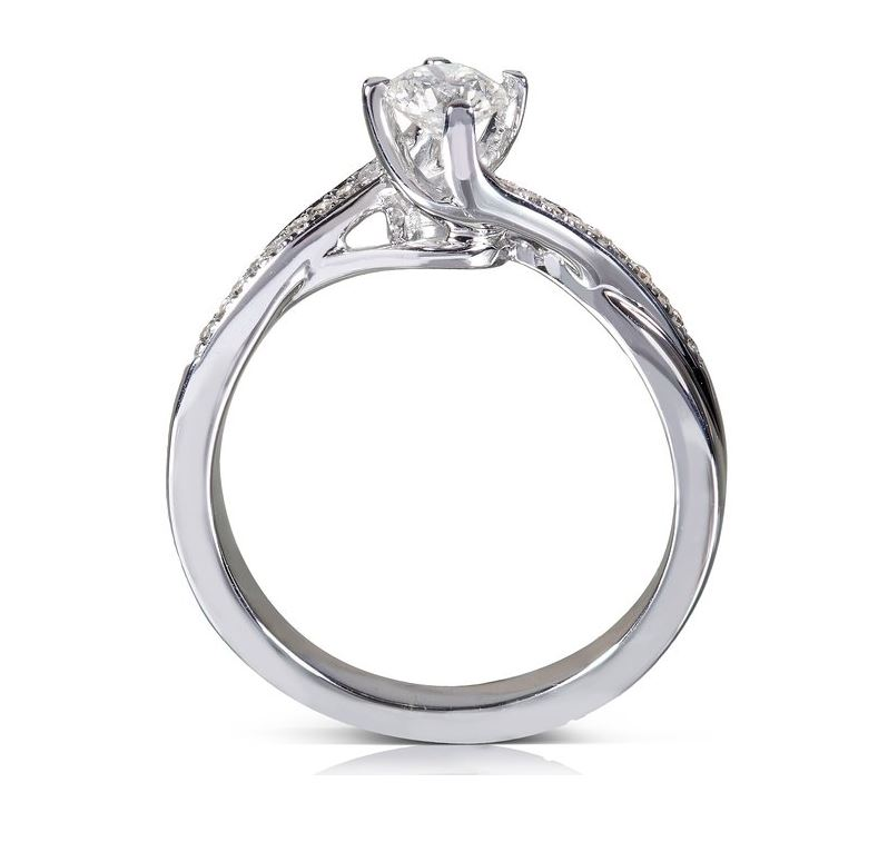 Cheap Moissanite Engagement Rings discount moissanite engagement rings ...